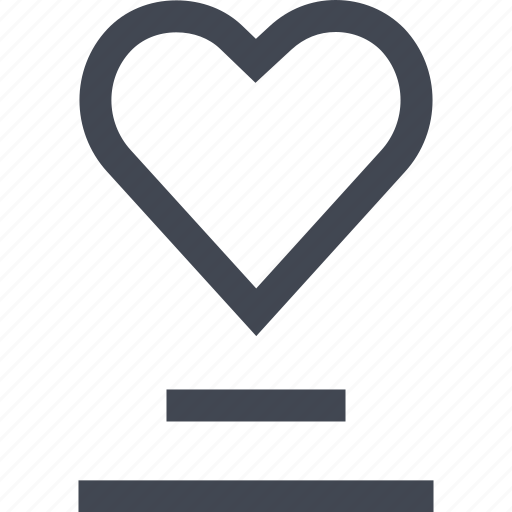 chat, heart, love, talk icon