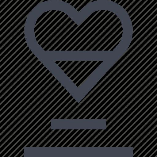 favorite, heat, save icon