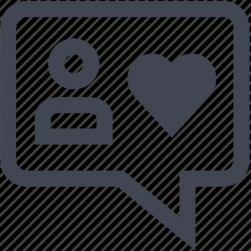 chat, conversation, talk icon