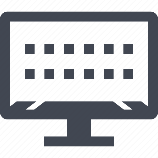 lines, loading, mac, pc icon