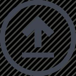 arrow, go, online, seo, up icon