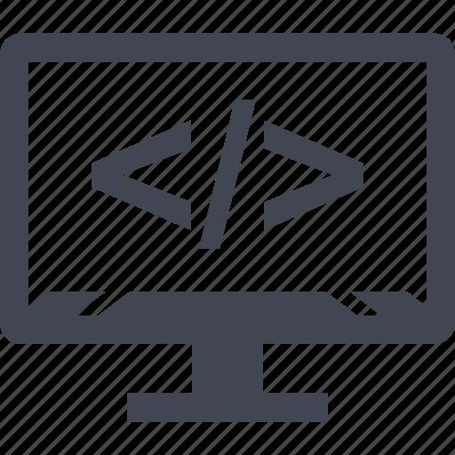 development, online, seo, web icon