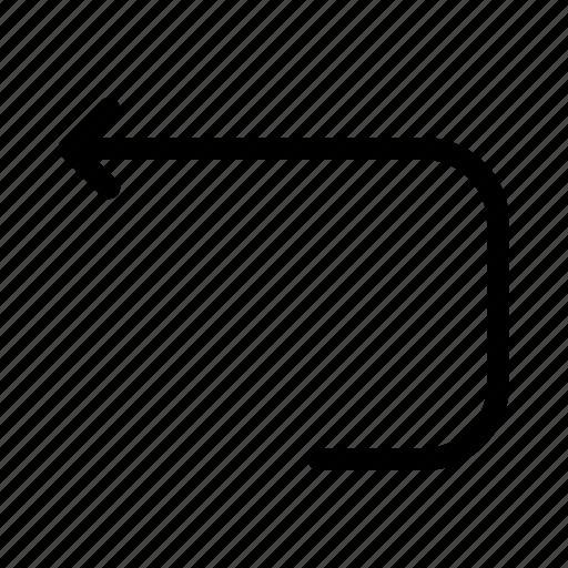 Arrow, back, loop icon - Download on Iconfinder