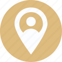 location, man, user, user location icon