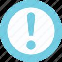 alert, attention, caution, hazard, warning icon
