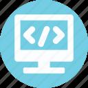 div, div coding, html, html code icon
