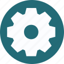 cog, gear, mechanics, setting icon