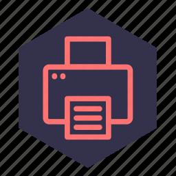 circulation, copy, duplicate, painting, printer, printing icon