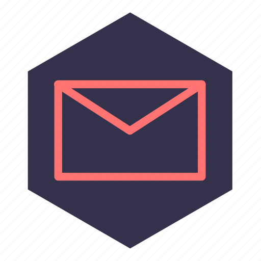 communication, email, envelope, message, notification, personal area icon