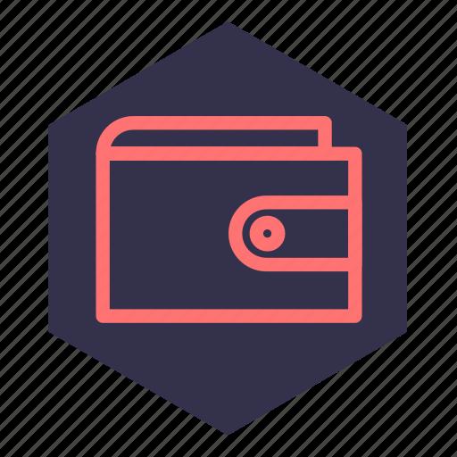 cash, currency, handbag, money, pocket, pouch, purse icon