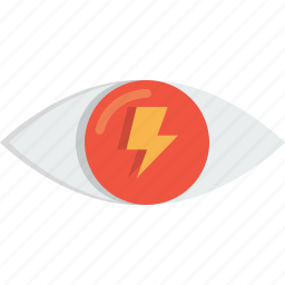 eye, find, glass, mission, thunder, view, vision icon