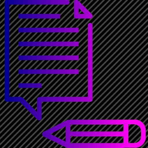 content, document, edit, management, optimization, seo, tools icon