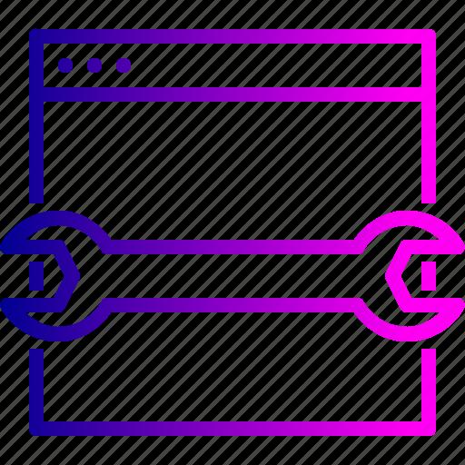 optimization, preferences, seo, settings, webpage, website icon