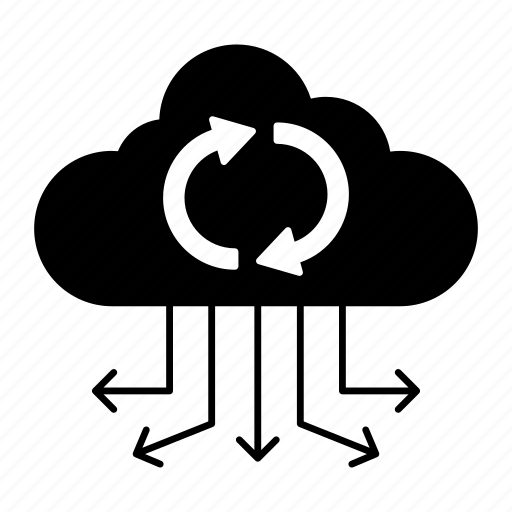 cloud, computing, connect, reload icon