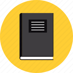 book, education, notebook, notepad, school, textbook icon