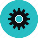 cog wheel, cogwheel, configuration, gear, gearwheel, mechanism, settings, system, technical icon