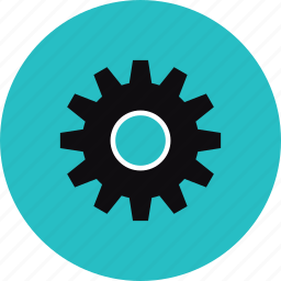 cog wheel, cogwheel, configuration, gear, gearwheel, mechanism, settings, system, technical icon