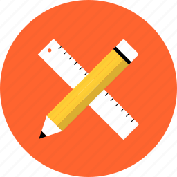 design, development, drawing, graphic, prototyping, ruler, tools icon