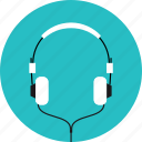 audio, equipment, headphone, headphones, music, musical, sound, speaker icon