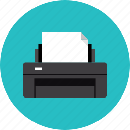 ink, inkjet, laser, print, printer, printing icon