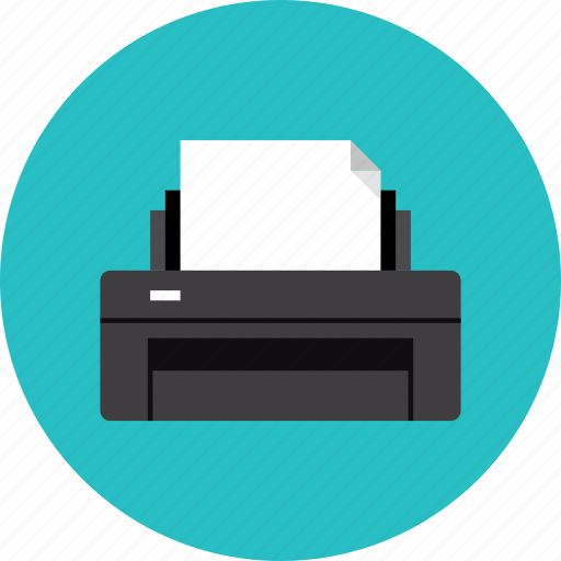 ink inkjet laser print printer printing icon icon