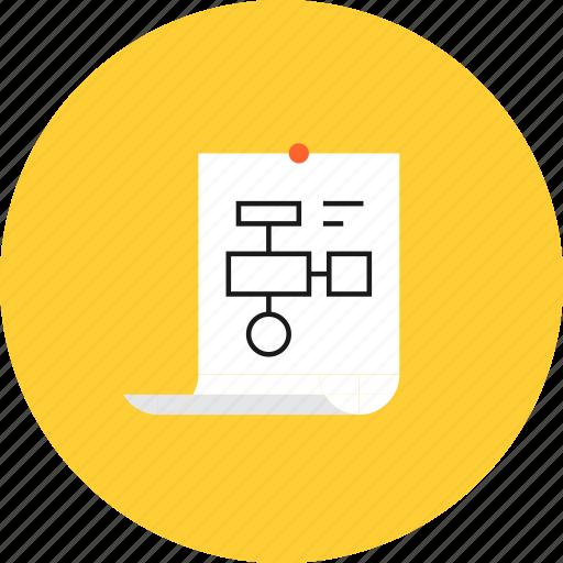 algorithm, chart, development, form, plan, planning, project icon