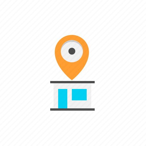 address, gps, location, map icon