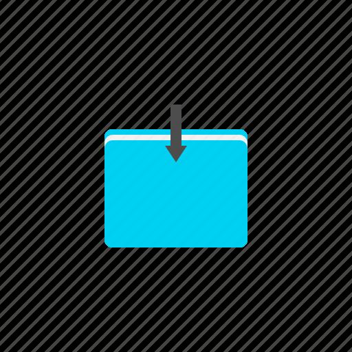download, import, storage, transfer icon