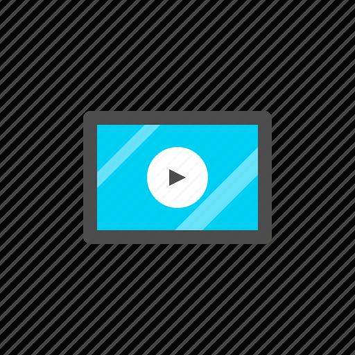 media, movie, player, video icon