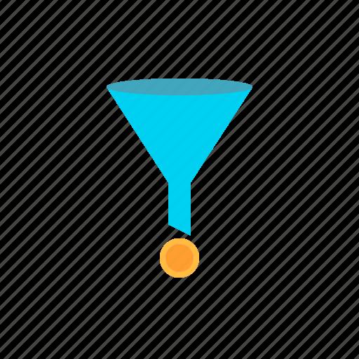 conversion, funnel, rate, sales icon