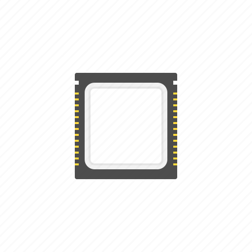 computer, hadware, processor, technology icon
