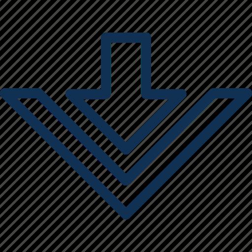 down, download, webui icon