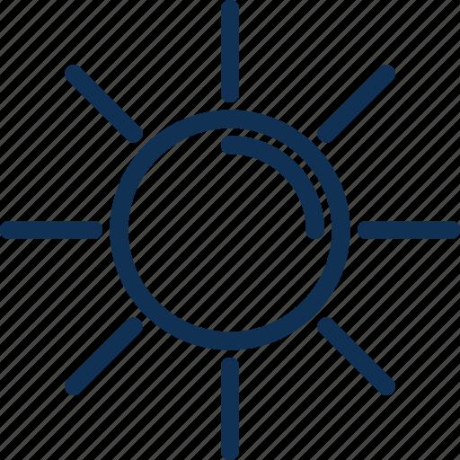 contrast, light, sun, webui icon