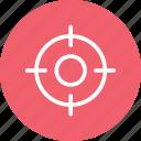 target, target customer, target keyword, target sign, target user icon