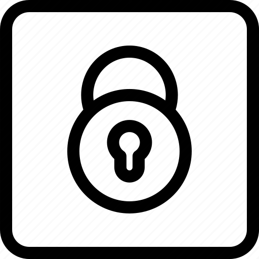 lock, locked, locked padlock, padlock, safe, secure icon