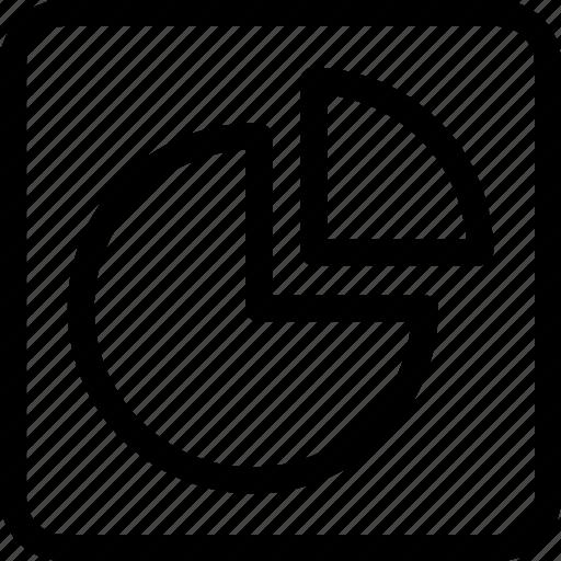 analysis, analytics, chart, pie, pie chart, statistics icon