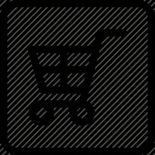 cart, ecommerce, marketplace, shopping cart, shopping list icon