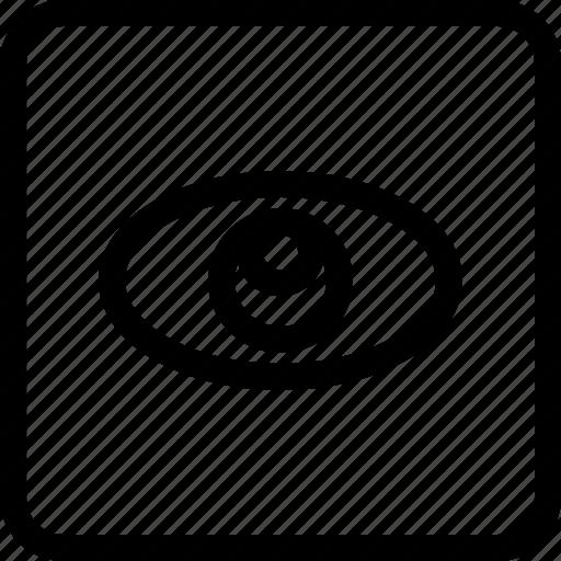 eye, show, sight, view icon