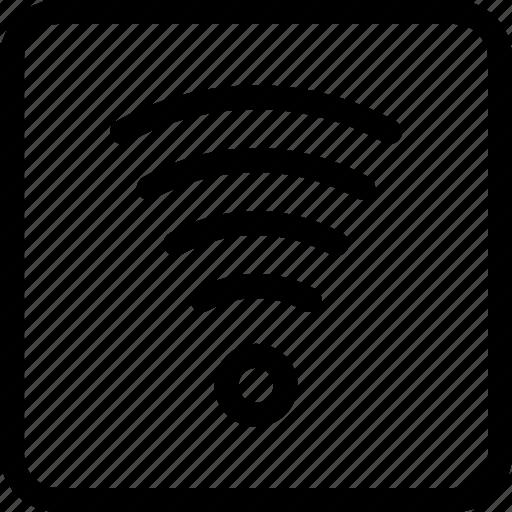 internet, network, wifi, wireless, wireless network icon