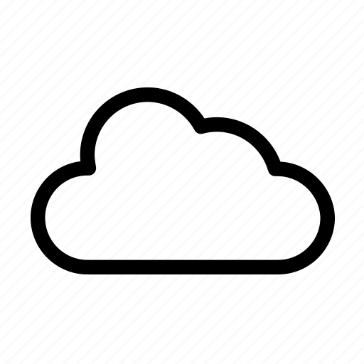 cloud, cloudy, weather icon icon