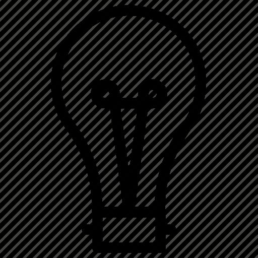 bulb, innovation, light, light bulb, tips icon icon