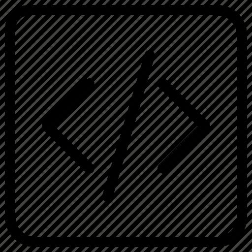code, development, web icon icon