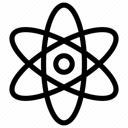 atom, atomic, chemistry, science icon icon