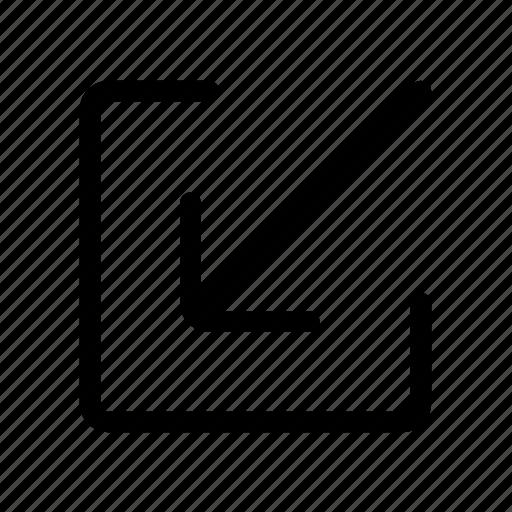 inbox, receive icon icon