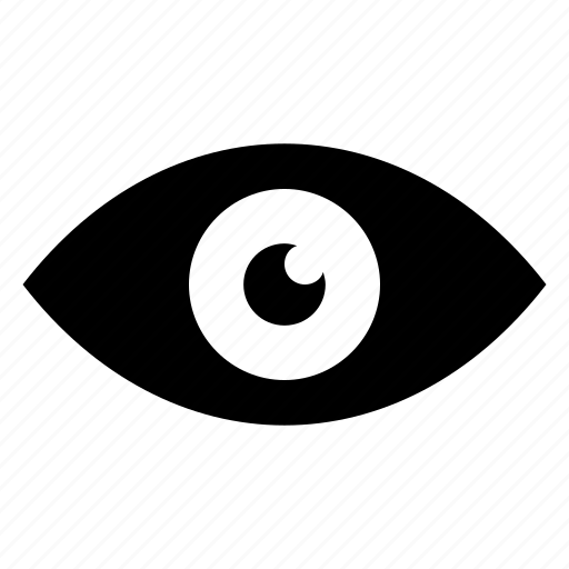 eye, human eye, search, view icon icon