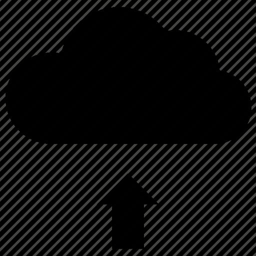 cloud, data, storage, upload icon icon