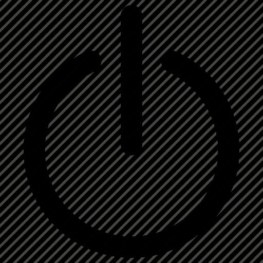 close, exit, off, power icon icon