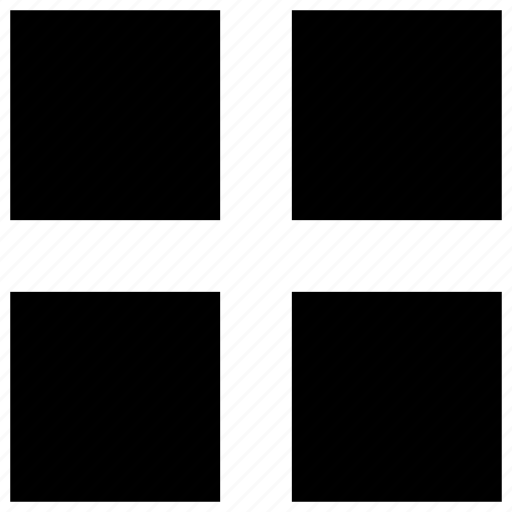 block, grid, grid view, interface, menu, ui, user interface icon icon