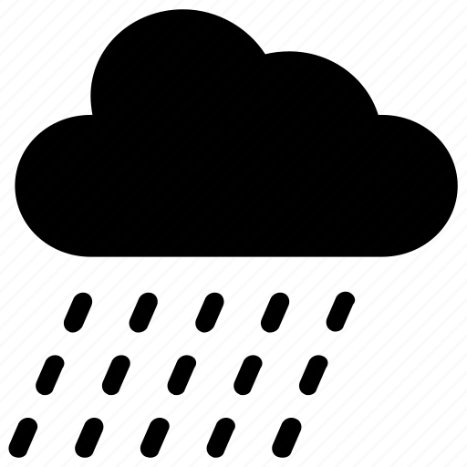 cloud, forecast, rain, weather icon icon