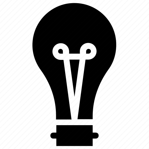 bulb, innovation, light, light bulb, tips icon icon